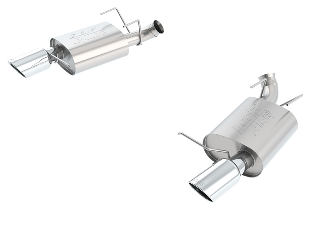 Image of Borla ATAK Exhaust Rear Section Ford Mustang GT 2013