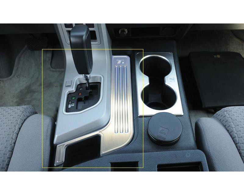 Tundra Center Console Arm Rest Trim 07-09 Toyota Tundra Aluminum Machined T1 Series T-REX Grilles - 11959