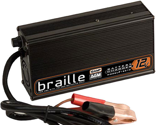 Image of Braille AGM Battery Charger 16 Volt 50 AMP Hour