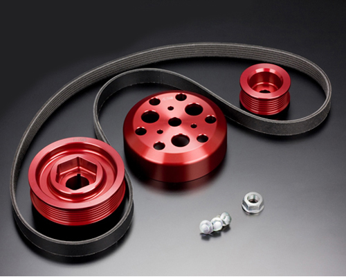 Toda Ultra Light Weight Front Pulley Kit - Without Air Conditioning Honda S2000 - 13810-F20-H00