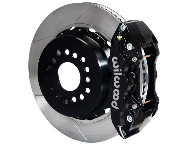 Wilwood W4A 14 Inch Rear Big Brake Kit Ford Mustang 05-12 - 140-10950
