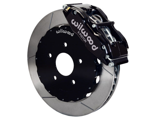 Wilwood Superlite-6R 13 Inch Front Big Brake Kit Nissan 370Z 09-14 - 140-11583