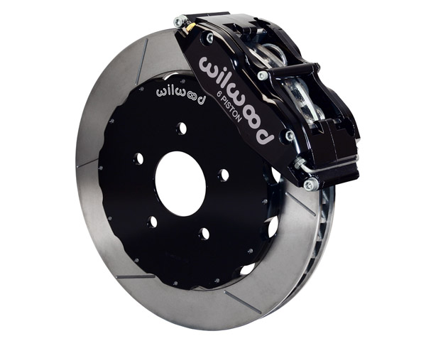 Wilwood Superlite-6R 14 Inch Front Big Brake Kit Chevrolet Corvette C6 05-12