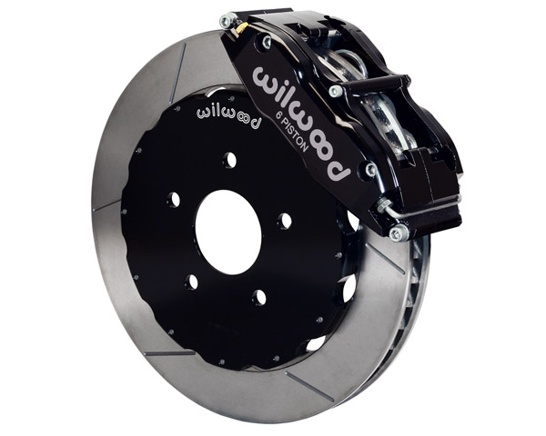 Wilwood Superlite-6R 14 Inch Front Big Brake Kit Nissan 350Z 03-08 - 140-9192