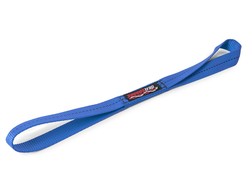 1 Inch x 18 Inch Soft Tie Extension Blue SpeedStrap - 14002