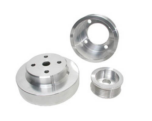 BBK 3 Piece Underdrive Aluminum Pulley Kit Ford Mustang 86-93
