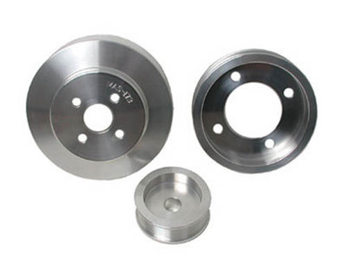 BBK 3 Piece Underdrive Aluminum Pulley Kit Ford Mustang 94-95