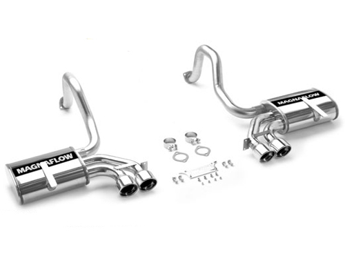 Magnaflow 3.0 Inch Stainless Axle-Back Exhaust Chevrolet Corvette 5.7L 97-04 - 15713