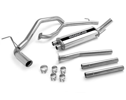 Image of Magnaflow 2.25 Inch Single-Side Stainless Exhaust Nissan Titan 07-10