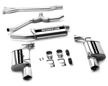 Image of Magnaflow 2.25 Inch Dual Cat-Back Exhaust Dodge Charger 2.73.5L V6 06-10