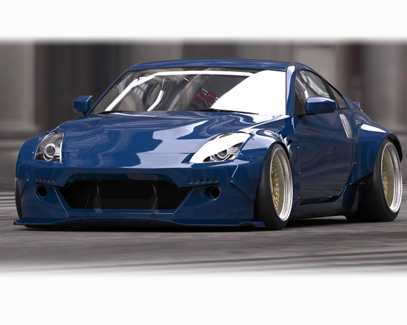 Greddy Rocket Bunny Wide Body Aero Kit Nissan 350Z Z33 03-09 - 17020350