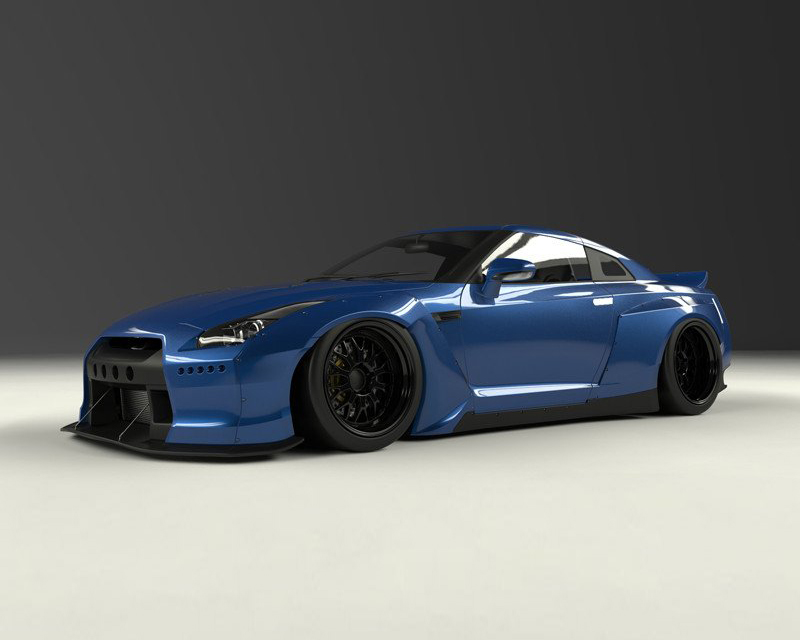 Pandem V2 Full FRP Wide-body Kit without Wing Nissan GT-R R35 09-16 - 17020600