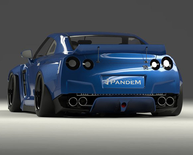 Pandem V2 FRP Duck Tail Wing Nissan GT-R R35 09-20 - 17020612