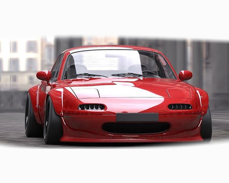 17040220 Greddy Rocket Bunny Full Wide Body Kit Mazda