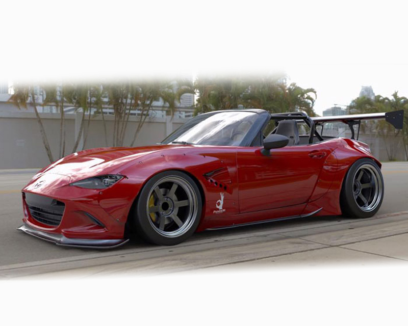 17040236 greddy | rocket bunny wide body kit without gt wing mazda