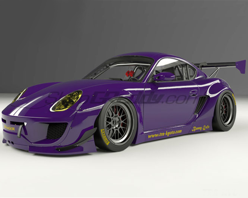 Pandem Full Kit Without Wing Porsche Cayman 987 06-13 - 17090510