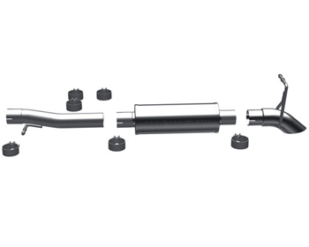 Magnaflow 2.5 Inch Off Road Pro Exhaust Jeep Wrangler 3.8L 07-12