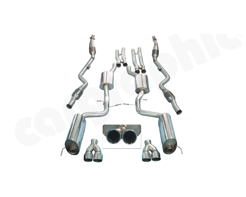 Cargraphic Manifold-Back System Super Sound Mercedes-Benz S-Class 98-06 - 188100KIT