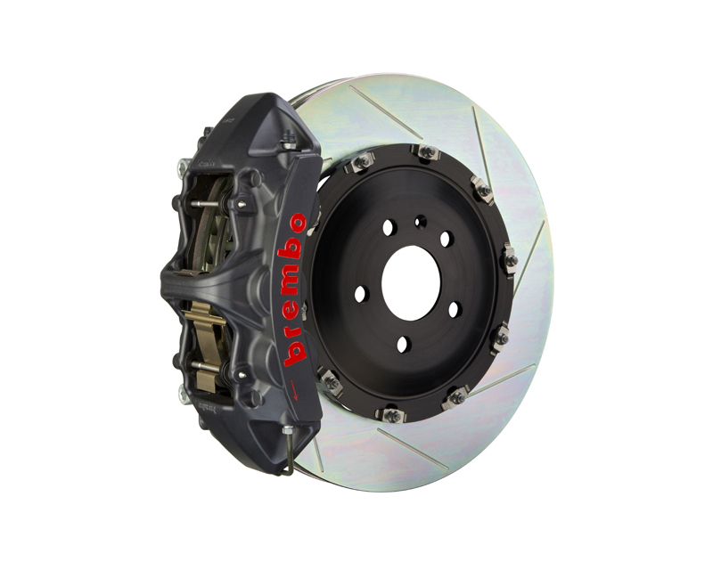 Brembo GT-S 380x34 2-Piece 6-Piston  Slotted Front Big Brake Kit - 1N2.9069AS