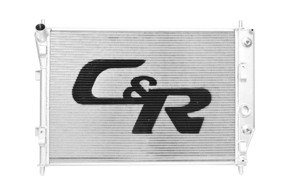 05-12 Chevrolet C6 Corvette Base OE Fit 36mm Single Row W/ 7 Plate Transmission Oil Cooler W/ OE Fittings - 20-00201