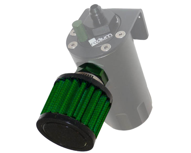 Image of Radium Engineering Barb Fitting Adapter with Air Filter