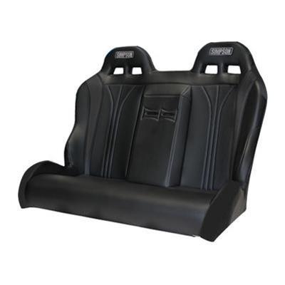 116 510 304 Simpson Racing Vortex Rzr Rear Seat Bench All Black Polaris Rzr