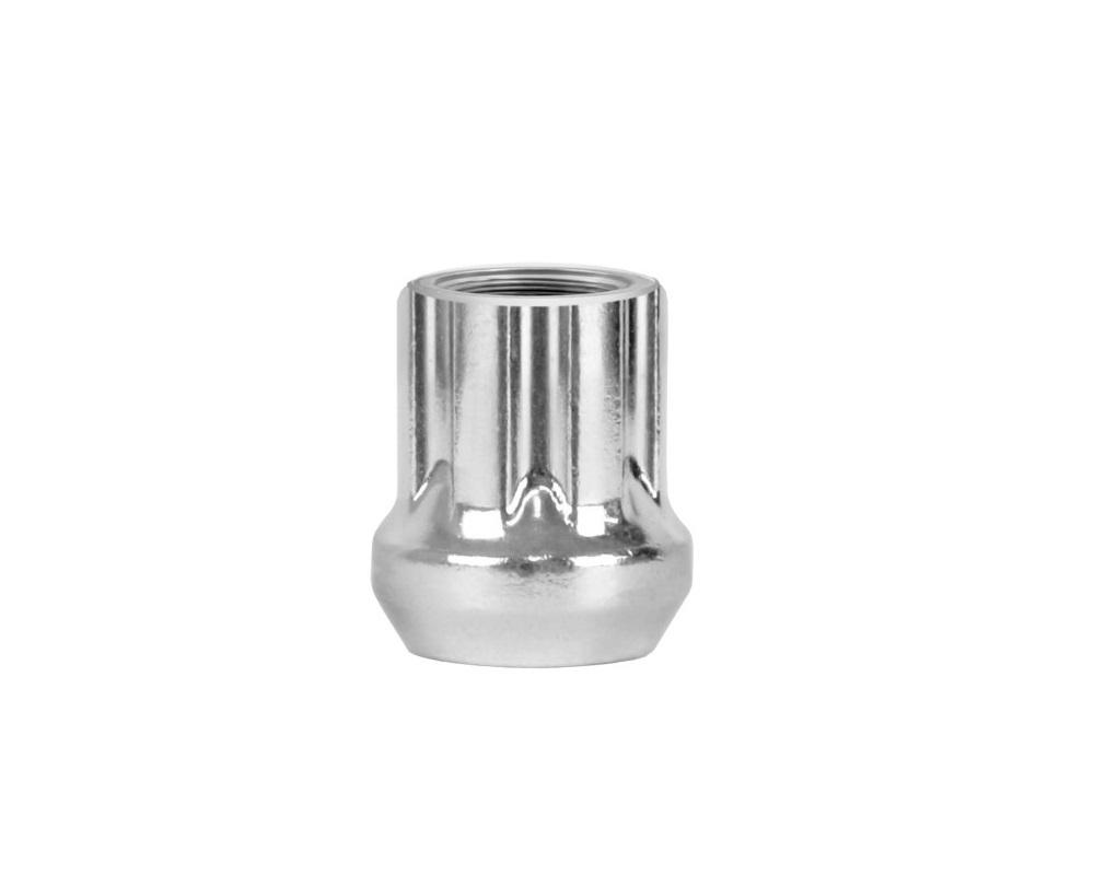 Perfectly Tight Spline Acorn Lug Nut Kits 3/8-24 7-Spline Zinc ATV/ UTV - 3824NSPL25Z-16