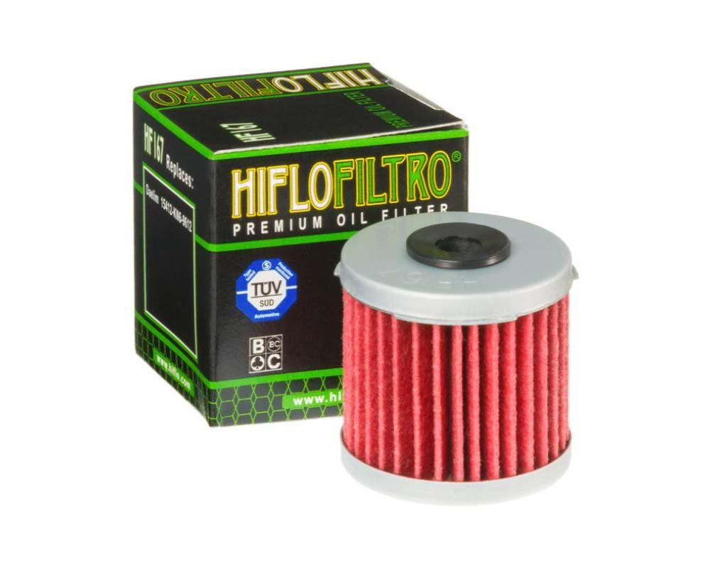 Hiflofiltro Oil Filter - HF167