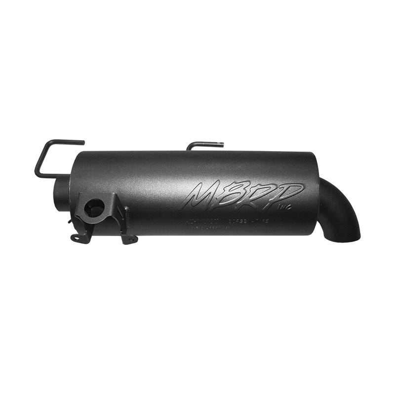 MBRP Slip-On System W/Performance Muffler Polaris Sportsman 1000 High Lifter | Sportsman 850 All Models 2009-2016 - AT-8511P