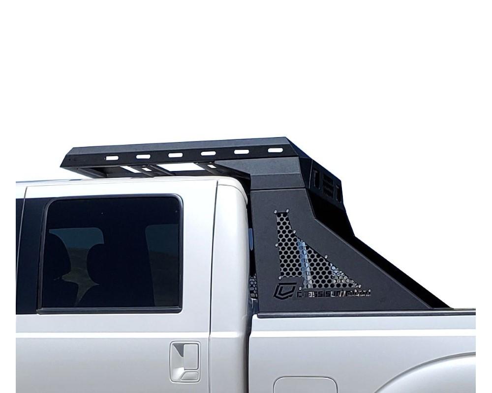 chassis unlimited silverado headache rack for 11 14 silverado 2500 3500 adventure rack proform series