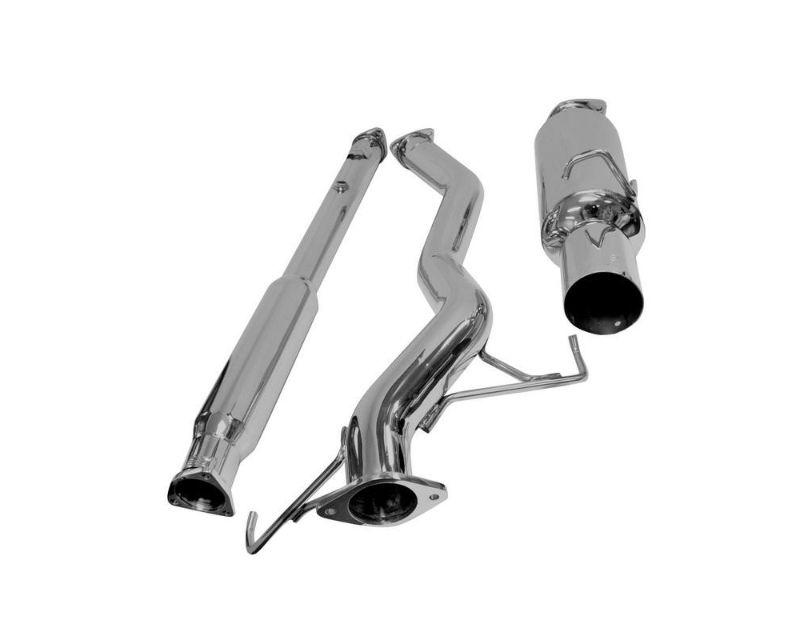 DC Sports Stainless Exhaust System Mitsubishi Evo VIII|IX 2003-2007 - SCS6010