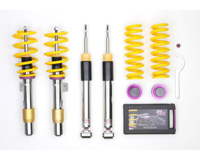 KW Coilover Kit V3 BMW 1-Series M Coupe E82 2011-2012 - 35220095