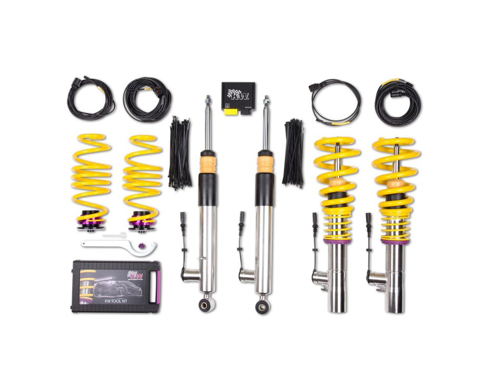 KW DDC ECU Coilover Kit BMW 1 series E82 Coupe 2008-2013 - 39020002