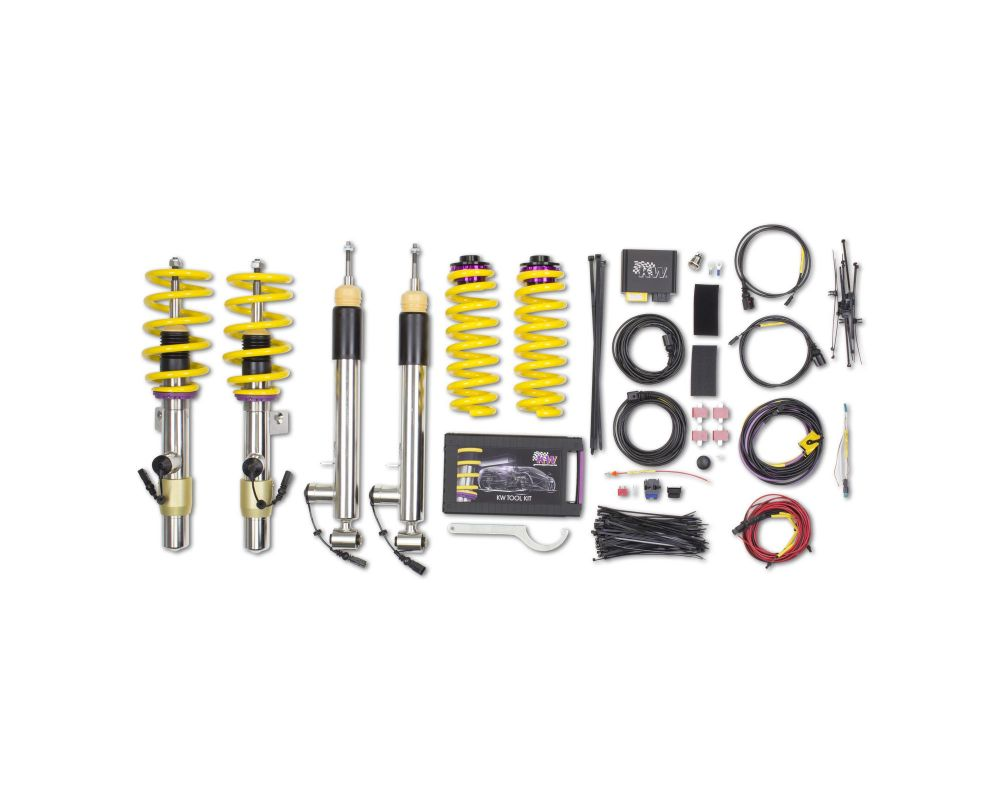KW DDC ECU Coilover Kit BMW 1-Series M Coupe 2011-2012 - 39020004
