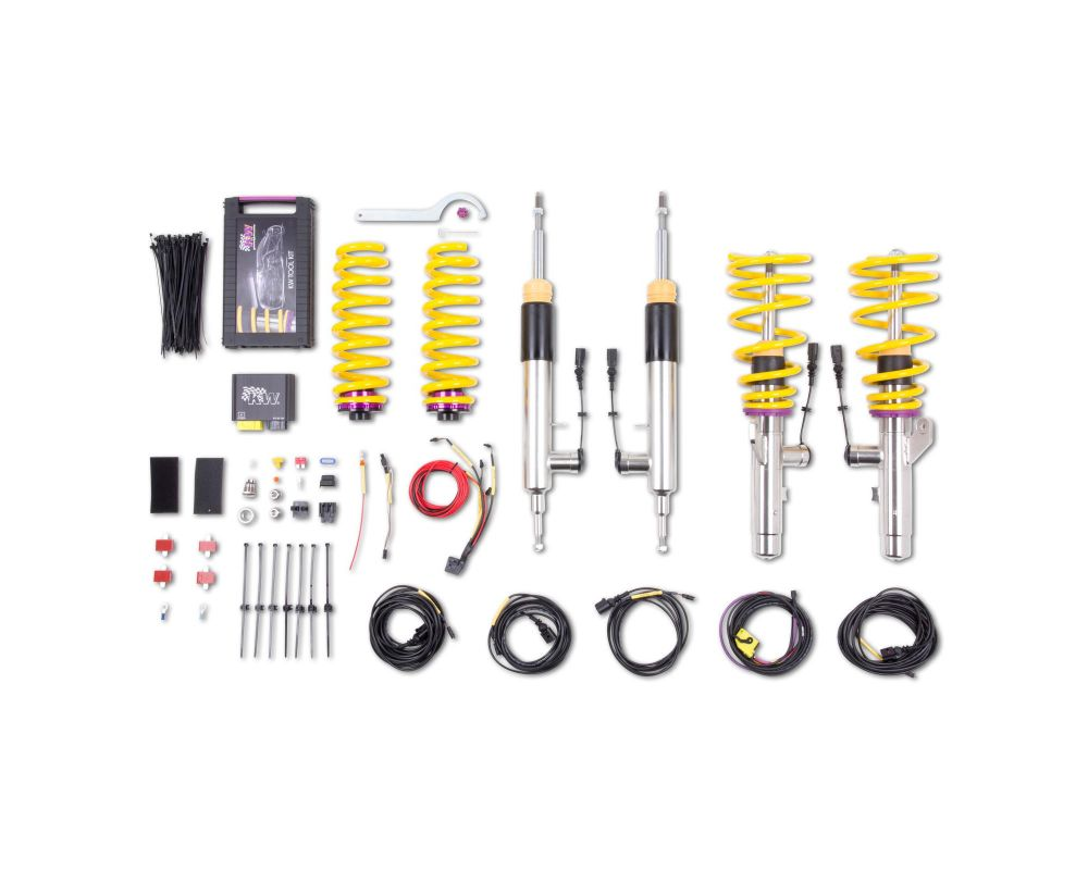KW DDC ECU Coilover Kit BMW 3-Series E93 2WD Convertible 2007-2013 - 39020007