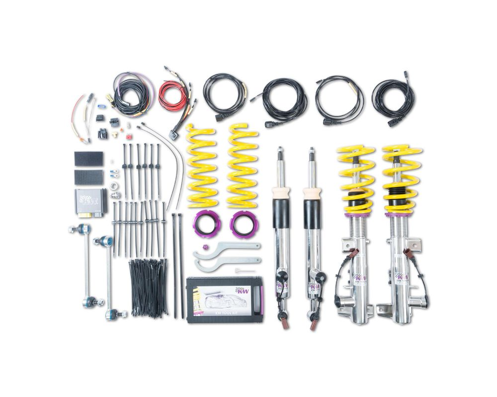 KW DDC ECU Coilover Kit Mercedes-Benz C-Class C63 AMG (W204, 204AMG) Sedan 2008-2015 - 39025004