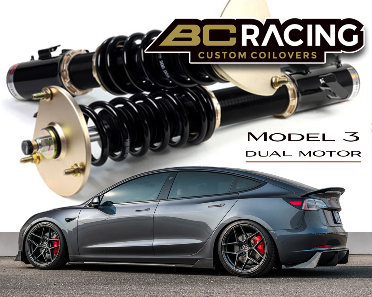 BC Racing BR Series Coilovers Telsa Model 3 AWD 2017-2020 - YG-02-BR