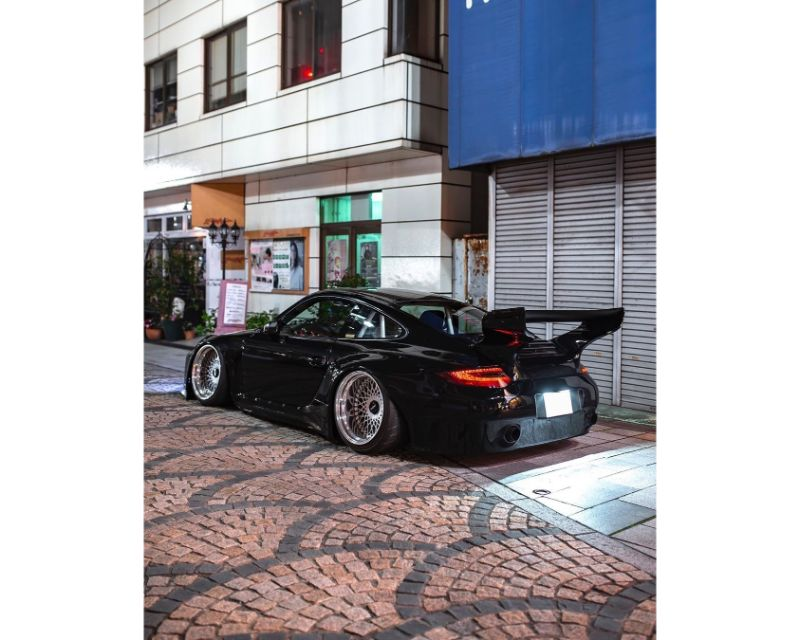 Old&New Side Spoiler(Left and Right) Porsche 997 - TC-ON1-S997-SS