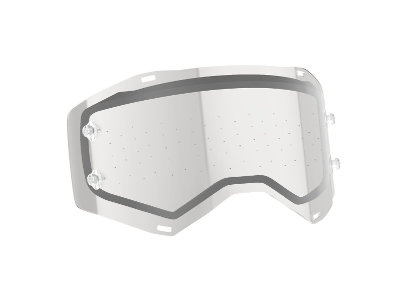 Scott Sports Works Double Lens Anti-stick for Prospect/Fury Dots Clear AFC - 265611-332