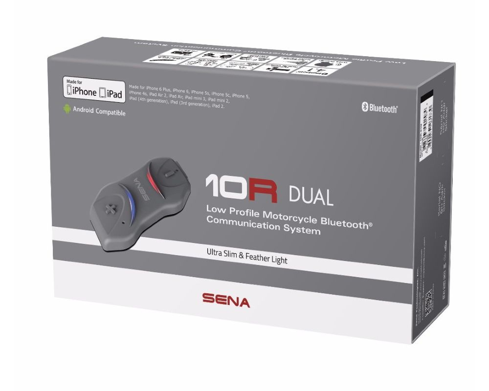 Sena 10R Dual w/ Out Remote - 10R-01D