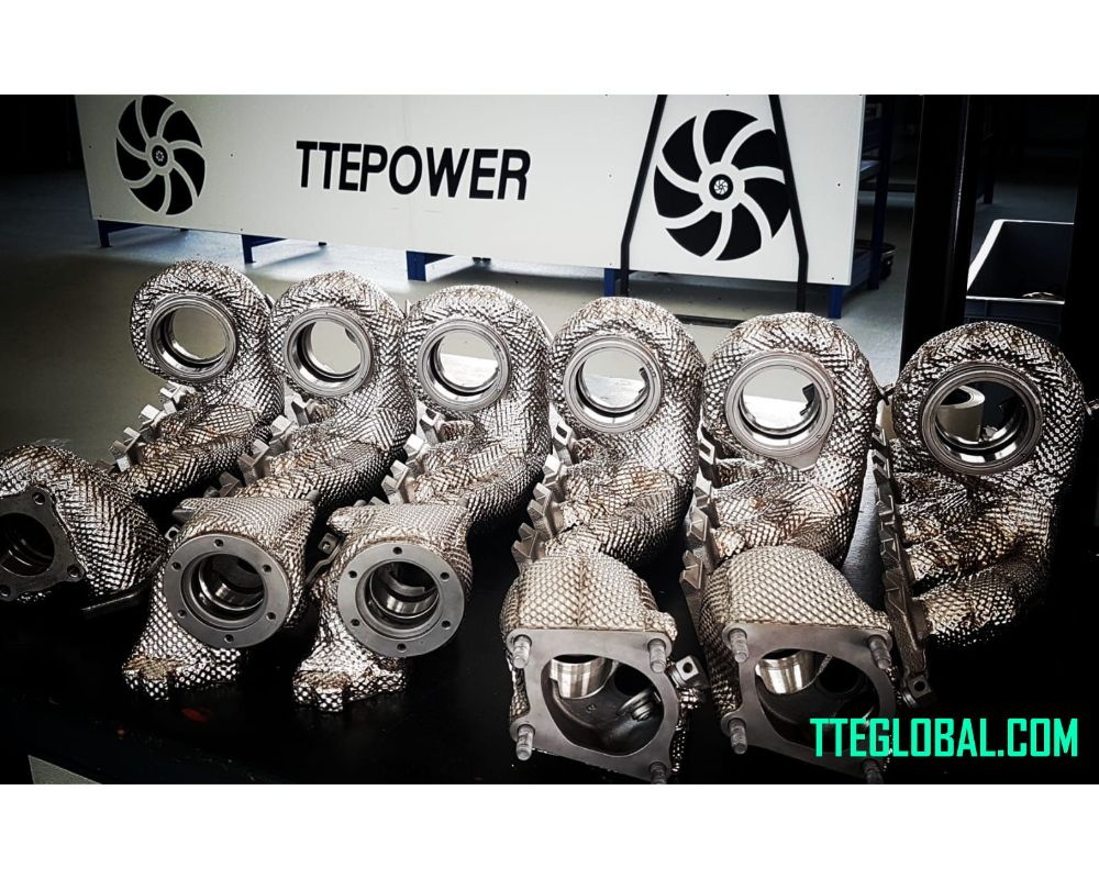TTE Turbo Heat Shield Isolation Add On for TTE350+ IS12 Upgrade Turbocharger - TTE10386.82
