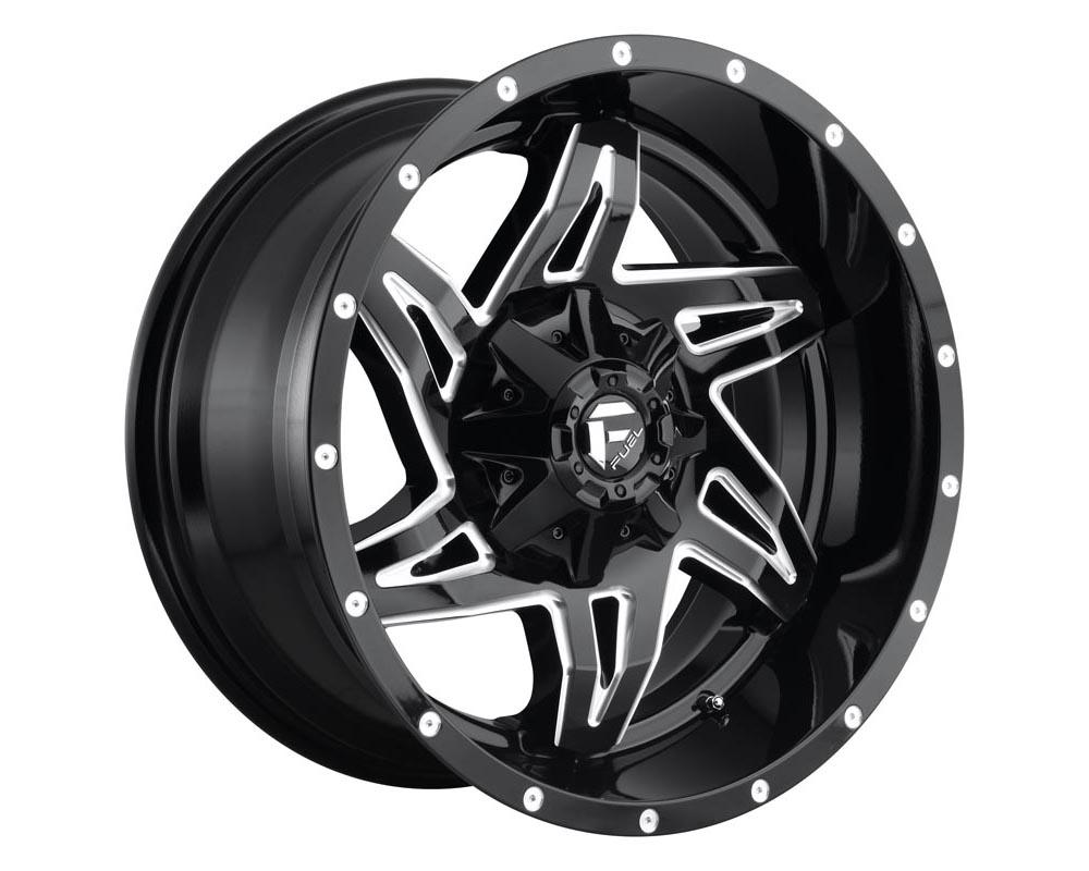 Fuel D613 Rocker Wheel 20x9 6x135/5.5 20 Gloss Black Milled - D61320909857
