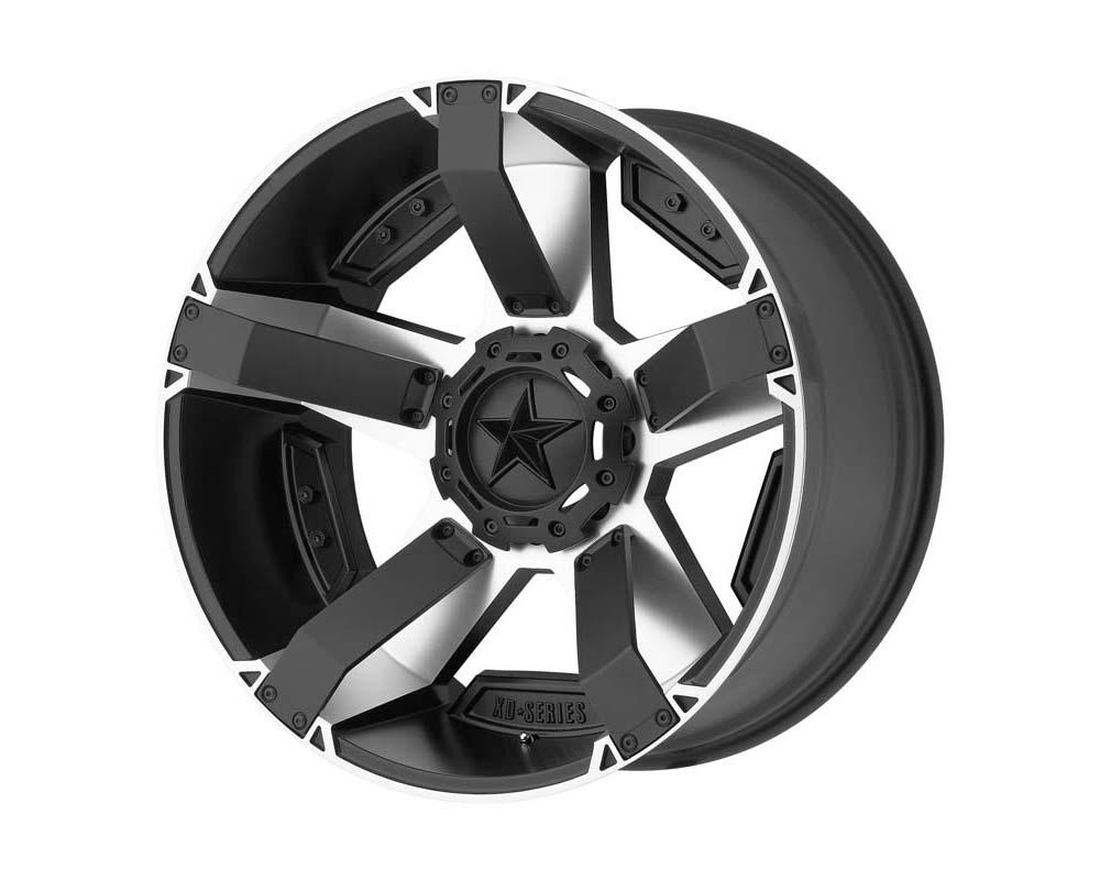 XD Series XD811 Rockstar II Wheel 17.00x8.00 6X135/5.5 10 Matte Black Machined - XD81178067510