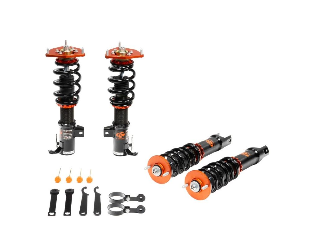 Ksport Asphalt Rally Spec AR Coilover Kit Ford Focus 2000-2005 - CFD100-AR