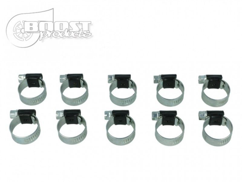 """BOOST Products 10 Pack BOOST Products HD Clamps, Black, 8-14mm (5/16 - 35/64"""") Range - BOP-SC-SW-0814-10"""
