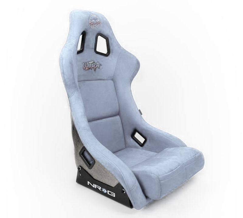 NRG FRP Ultra Edition Bucket Seat Large Grey - FRP-302GY-ULTRA