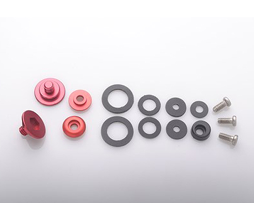 Bell Racing 276 | 281 SRV-2 Red Replacement Pivot Kit V.10