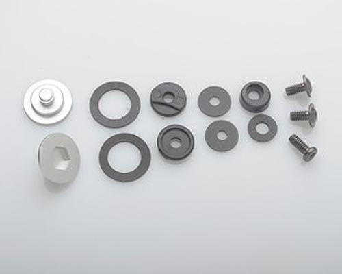 Bell Racing SV SE03 | SE05 Silver Replacement Pivot Kit & Screws