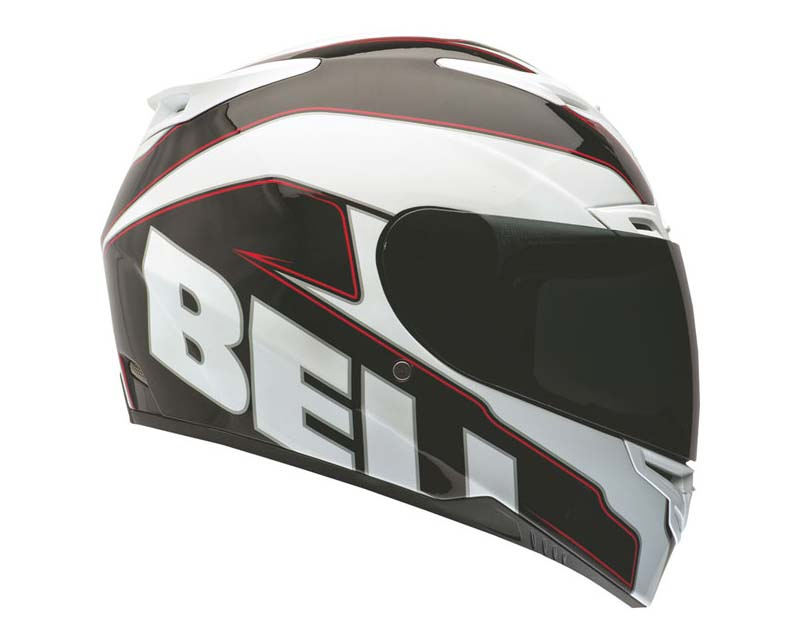 Image of Bell Racing RS-1 Emblem White Helmet 2XL 62-63