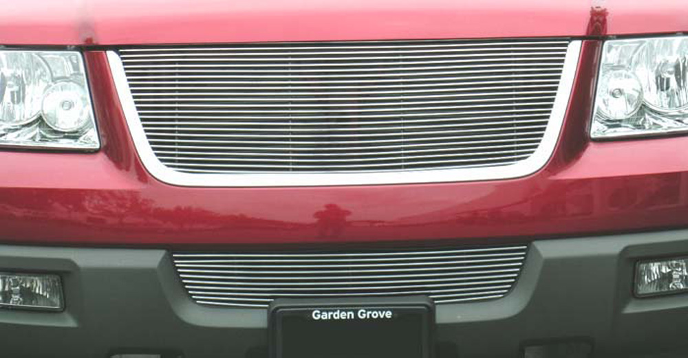 Expdition Grille Insert 03-06 Ford Expdition Aluminum Polished Billet Series T-REX Grilles - 20590